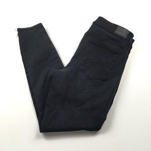 AEO Hi-Rise Jegging Super Stretch Black Jeans